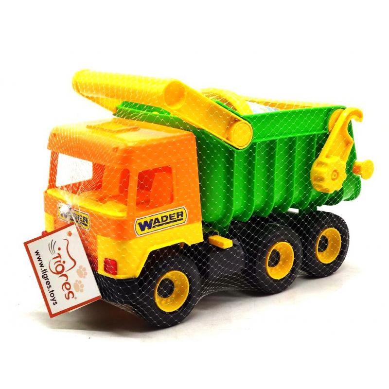 """Middle truck с набором для песка, 4 элемента (39159) купить в магазине """"Пустун"""""""