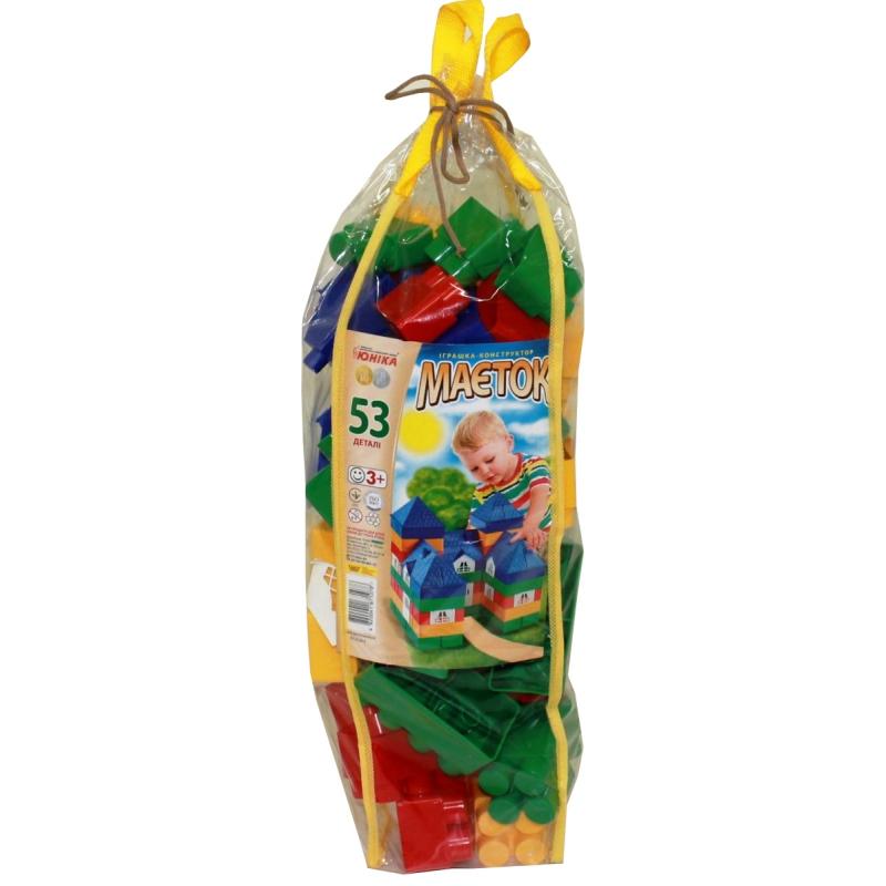 """Конструктор пластиковый Особняк 53 детали (1078) купить в магазине """"Пустун"""""""