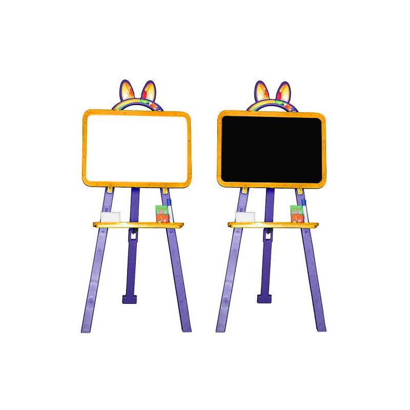 """Мольберт для рисования (оранжево-фиолетовый) 013777/5 купить в магазине """"Пустун"""""""