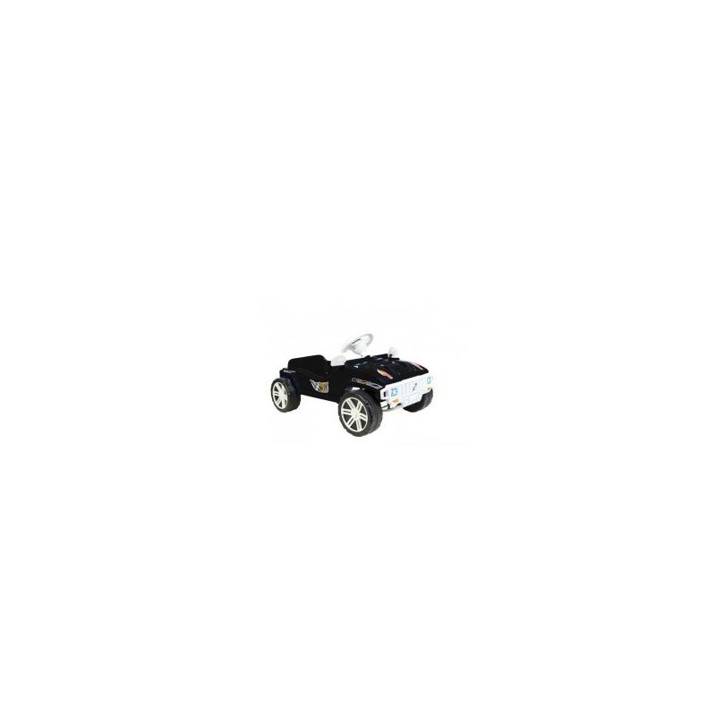 """Машинка для катания педальная, черная 792_Ч купить в магазине """"Пустун"""""""