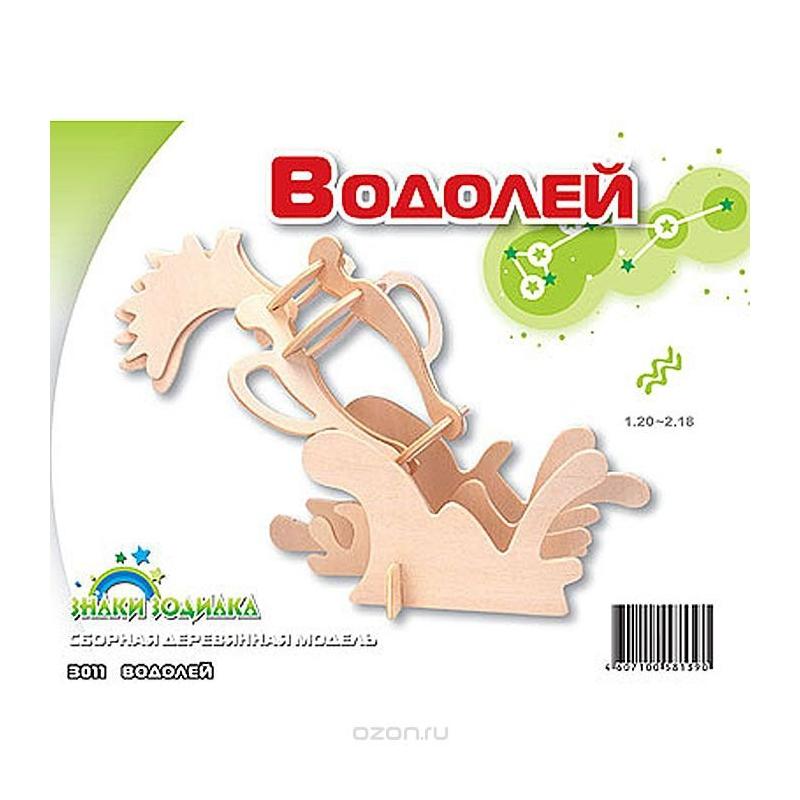 """Деревянный конструктор МДИ Водолей (З011) купить в магазине """"Пустун"""""""