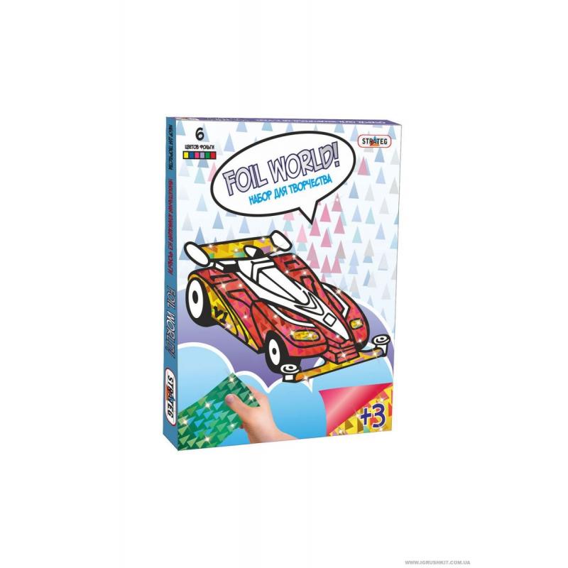 """Картина из фольги """"Формула 1"""" 700-5 купить в магазине """"Пустун"""""""