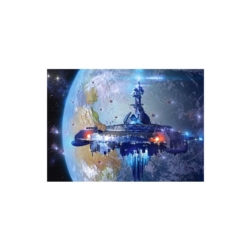 """Пазлы Космический корабль 120 элементов купить в магазине """"Пустун"""""""