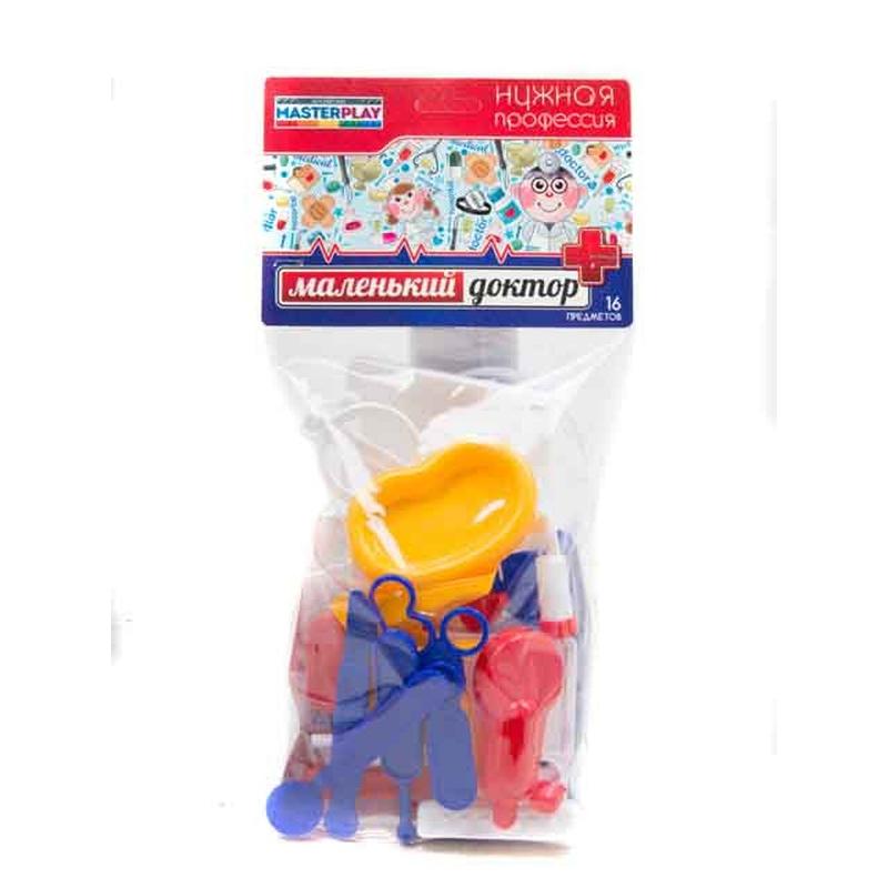 """Игровой набор """"Маленький доктор"""" (23 шт) 1-036 купить в магазине """"Пустун"""""""