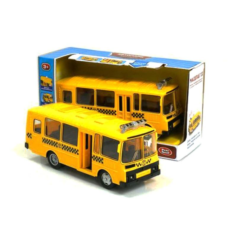 """Автобус 9714 Е (24) свет, звук, инерция, на батарейках, в коробке 9714E купить в магазине """"Пустун"""""""