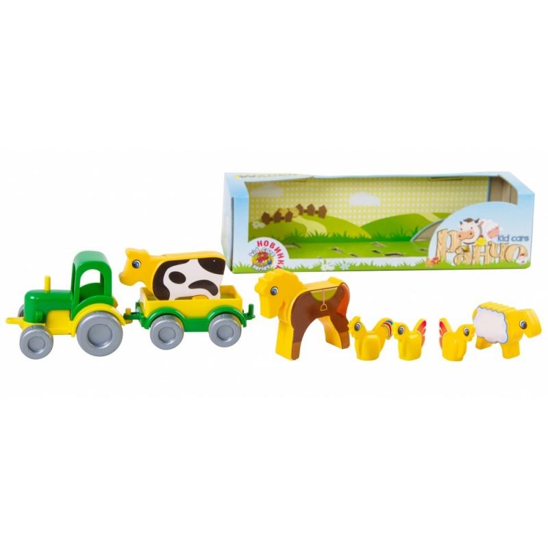 """Игрушечная машинка TIGRES Ранчо Kid cars (39280) купить в магазине """"Пустун"""""""