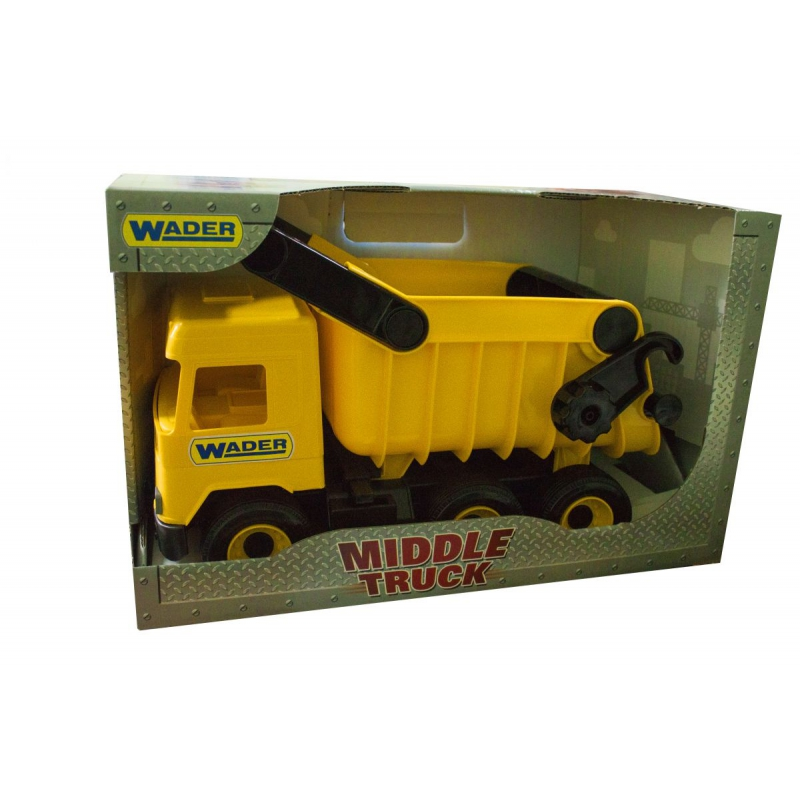 """Самосвал TIGRES Middle truck (желтый) (39490) купить в магазине """"Пустун"""""""