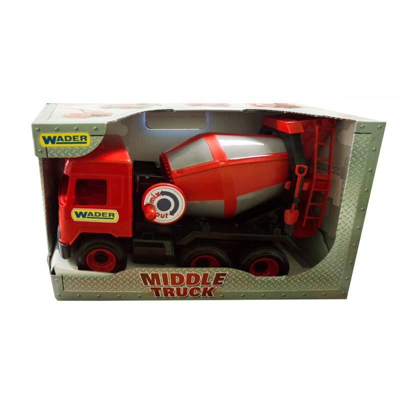 """Авто TIGRES Middle truck Бетономешалка (39489) купить в магазине """"Пустун"""""""