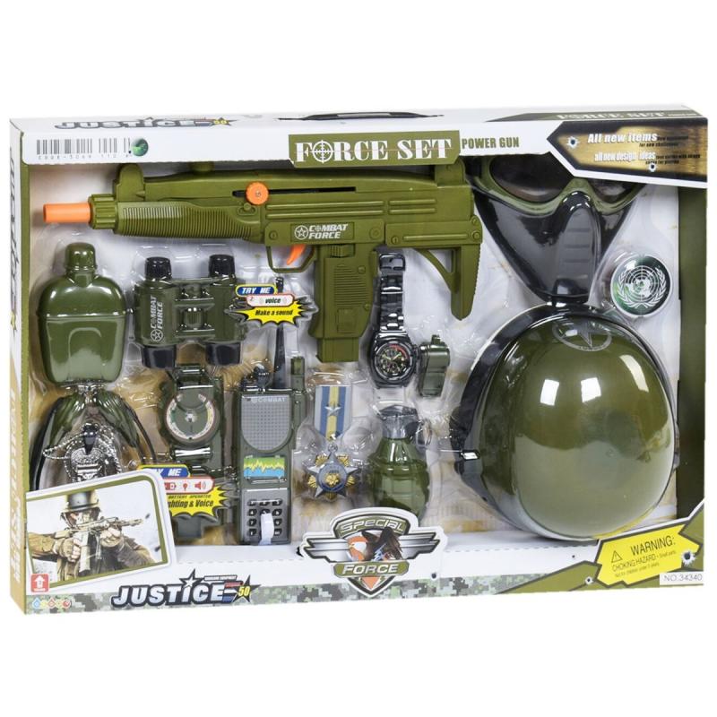 """Военный набор оружия 34340 купить в магазине """"Пустун"""""""