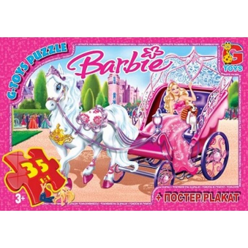 """Пазлы Barbie, 35 элементов купить в магазине """"Пустун"""""""