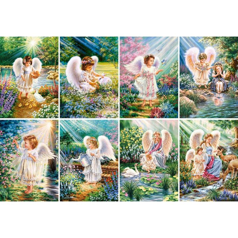 """Пазлы Сияющие ангелы, 120 элементов купить в магазине """"Пустун"""""""