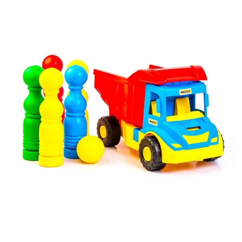 """Грузовик с кеглями TIGRES Multi truck (39220) купить в магазине """"Пустун"""""""