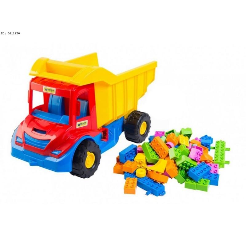 """Грузовик с конструктором TIGRES Multi Truck (39221) купить в магазине """"Пустун"""""""
