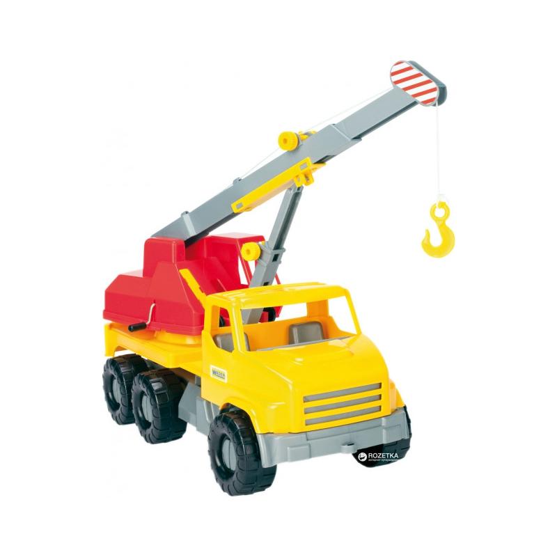 """Игрушечный автокран TIGRES City Truck (39366) купить в магазине """"Пустун"""""""