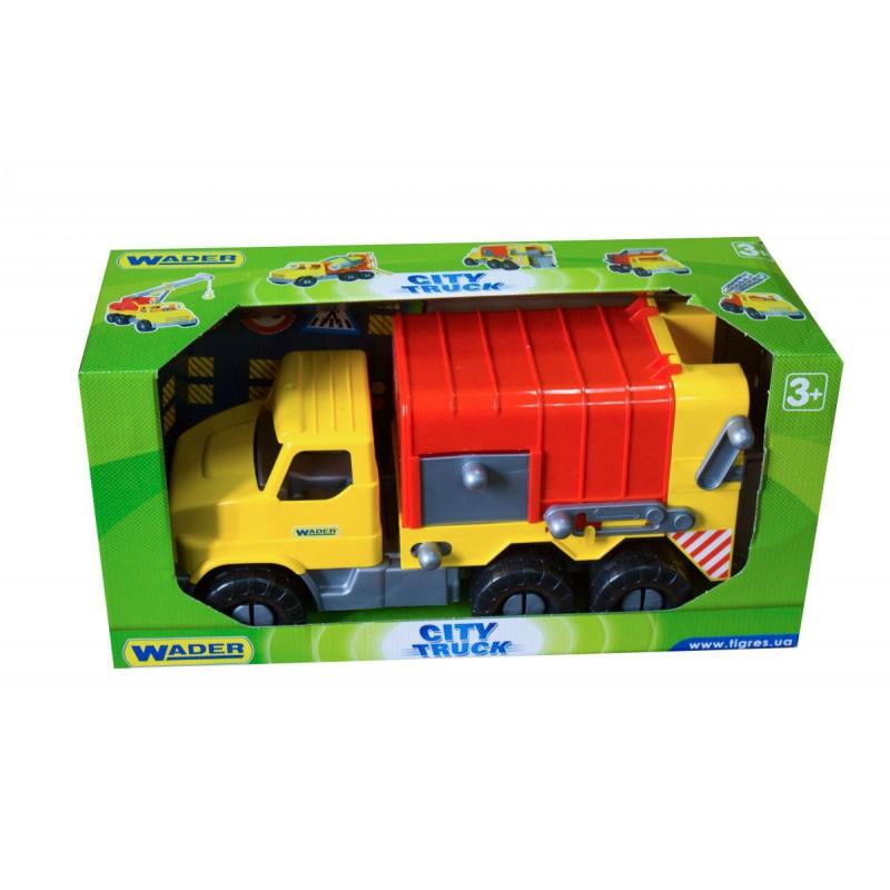 """Машинка Мусоровоз TIGRES City Truck (39369) купить в магазине """"Пустун"""""""