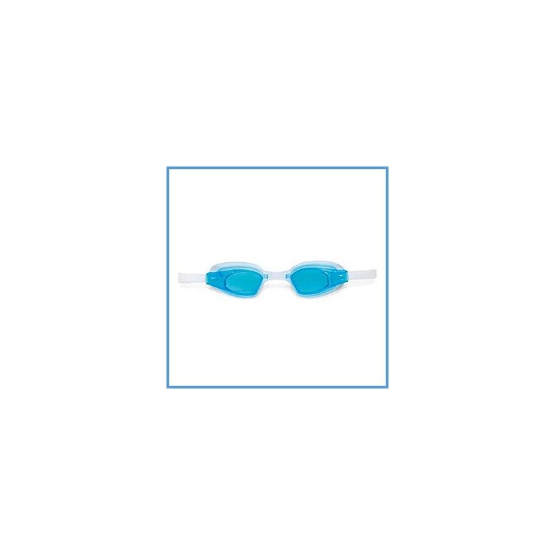"""Очки для плавания голубые купить в магазине """"Пустун"""""""
