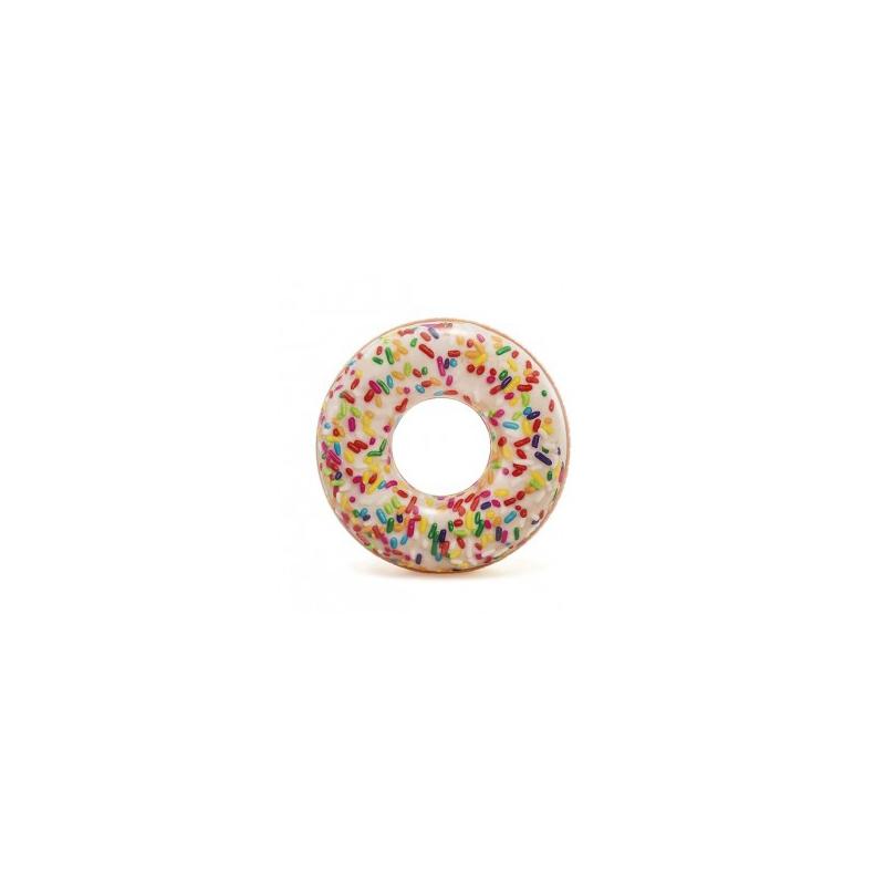 """Круг надувной Пончик с присыпкой 114 см купить в магазине """"Пустун"""""""