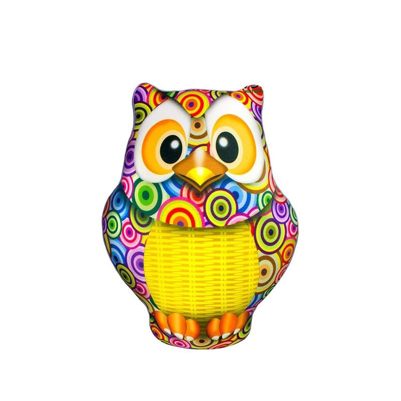 """Антистрессовая игрушка SOFT TOYS Сова с корзинкой купить в магазине """"Пустун"""""""