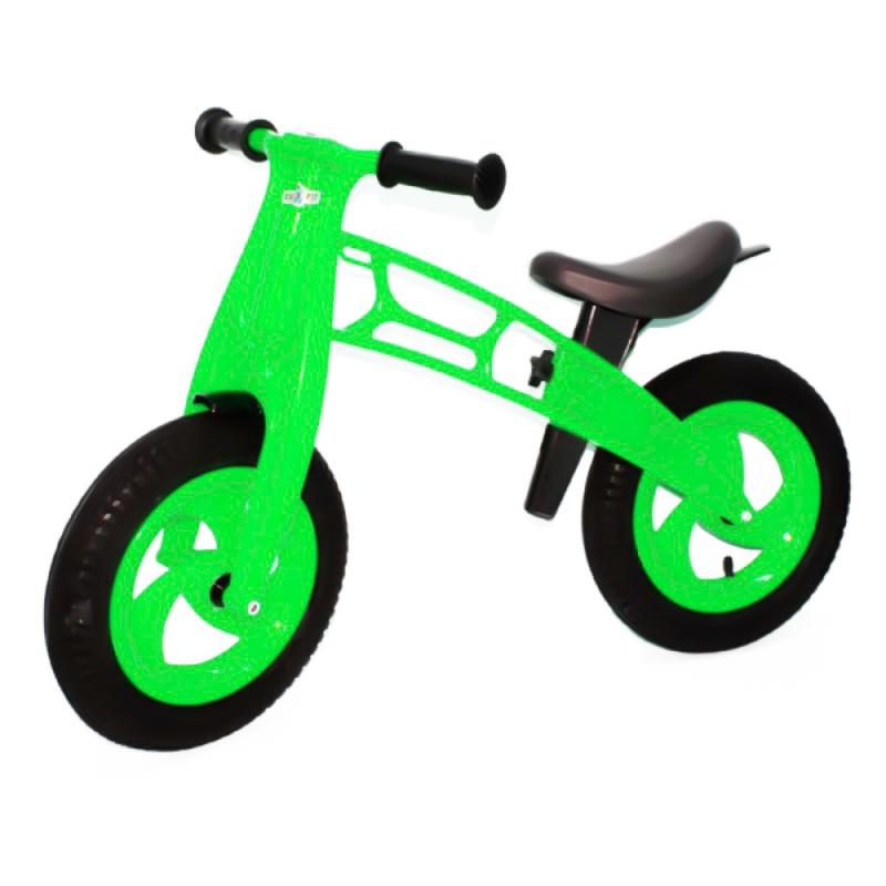 """Беговел """"CrossBike"""" (зеленый) KW-11-018 САЛ купить в магазине """"Пустун"""""""