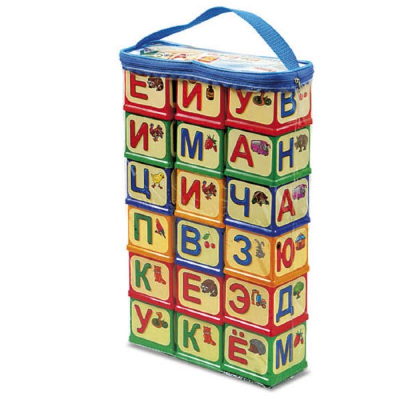 """Кубики """"Азбука"""", 18 шт 0620 купить в магазине """"Пустун"""""""