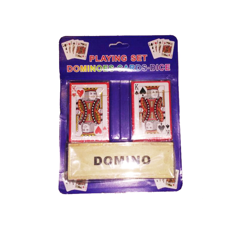 """Домино 2 колоды карт купить в магазине """"Пустун"""""""