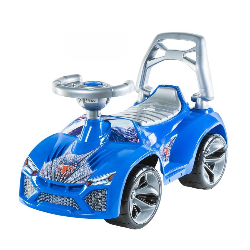 """Машинка для катания """"ЛАМБО"""" (синяя) 021_С купить в магазине """"Пустун"""""""