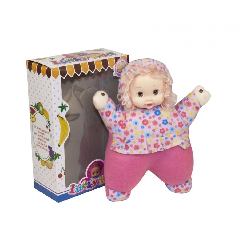 "Кукла мягкая, музыкальная Lucky Baby купить в магазине ""Пустун"""