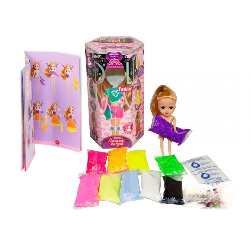 """Набор креативного творчества """"Princess Doll"""", маленькая (укр) CLPD-02-02U купить в магазине """"Пустун"""""""