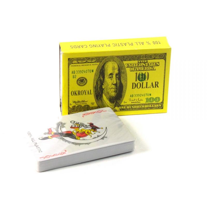 """Карты игральные Доллар (54 карты) купить в магазине """"Пустун"""""""