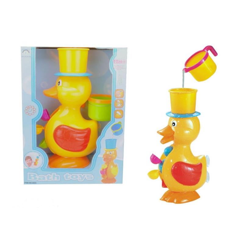"""Игрушка фонтанчик для ванной """"Утёнок"""" 8808 купить в магазине """"Пустун"""""""