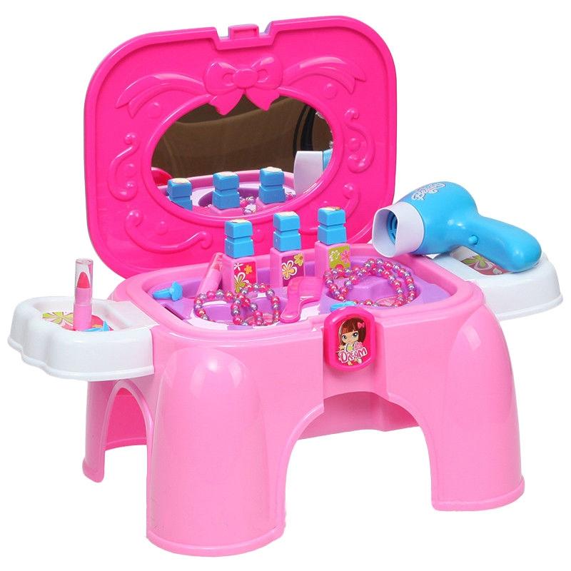 """Раскладной столик-стульчик с аксессуарами """"Beauty"""" купить в магазине """"Пустун"""""""