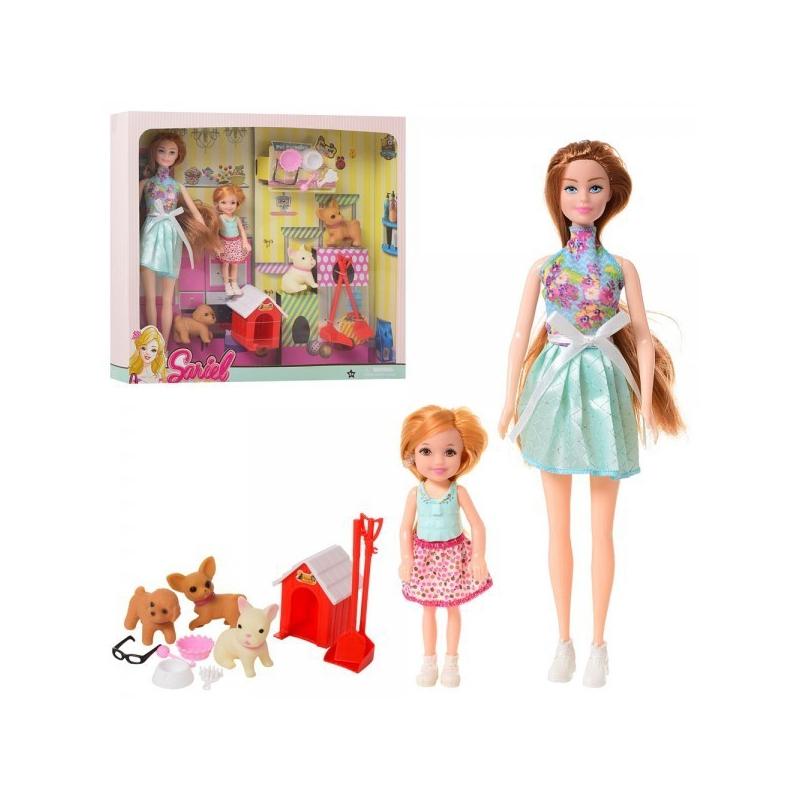 """Набор кукол с питомцами """"Sariel"""" 7726-A2 купить в магазине """"Пустун"""""""