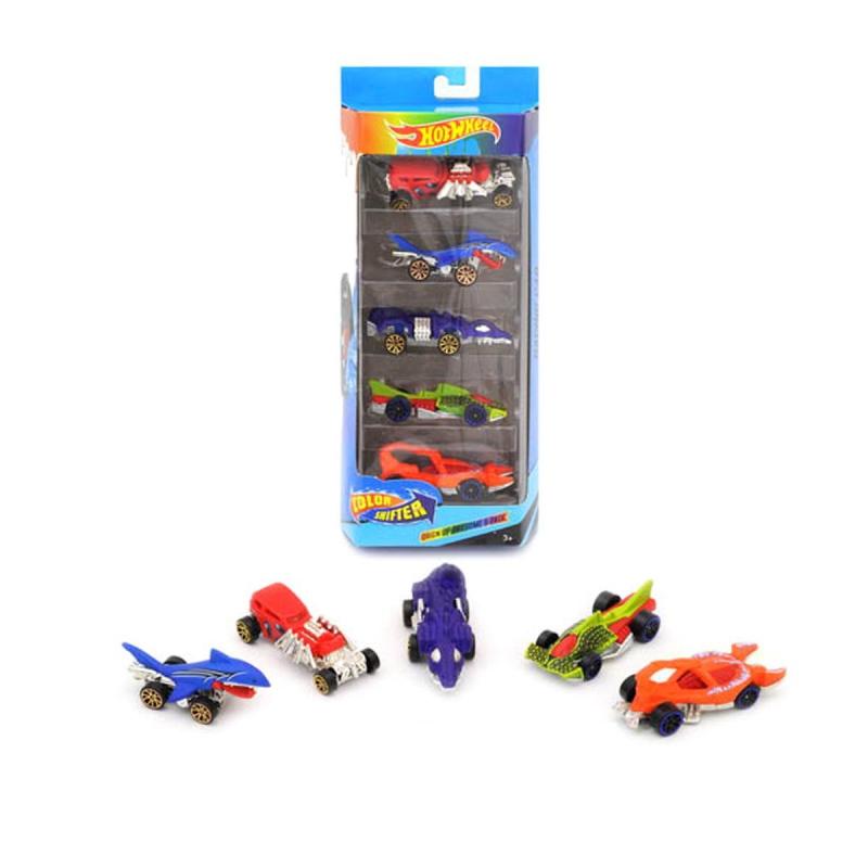"""Набор машинок """"Hot Wheel"""", 5 машинок, меняют цвет GBS889-5 купить в магазине """"Пустун"""""""