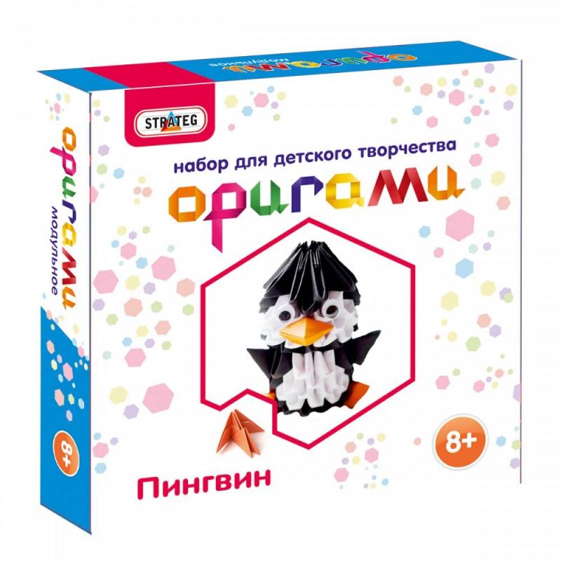 """Набор для творчества Оригами Пингвин купить в магазине """"Пустун"""""""
