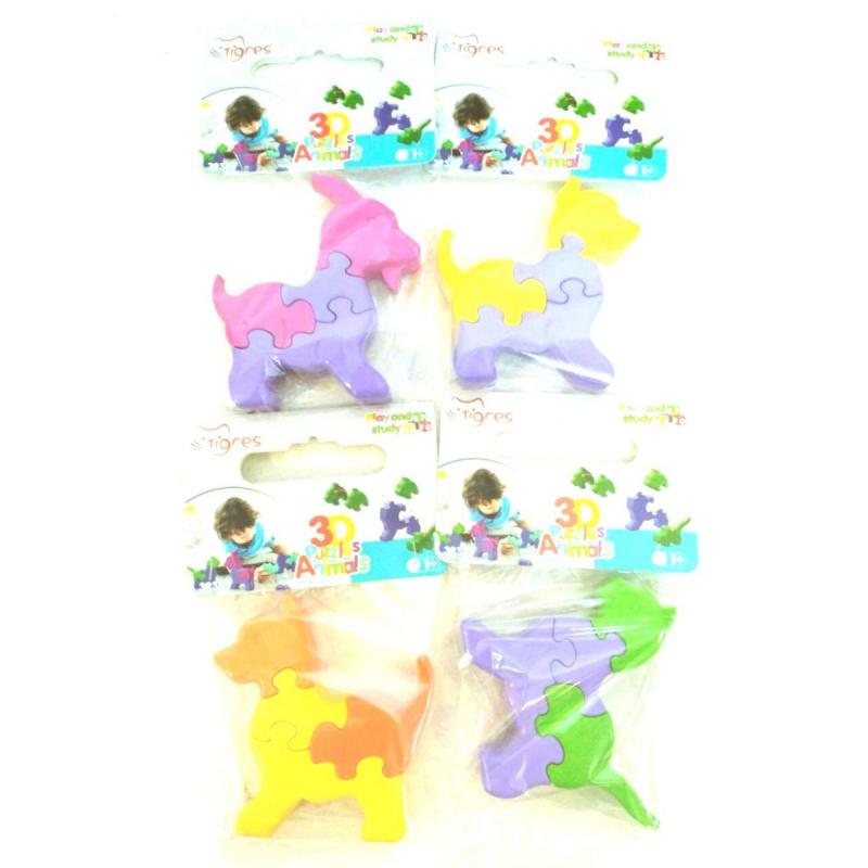 """3D пазл TIGRES Животные (39385) купить в магазине """"Пустун"""""""