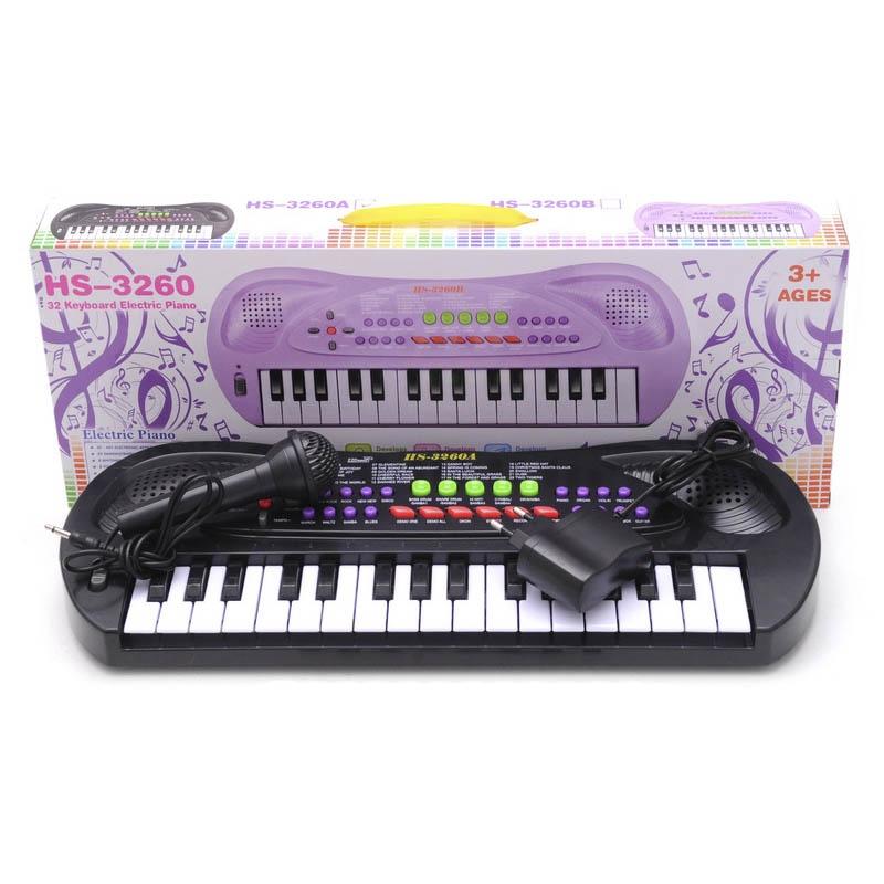 """Пианино с микрофоном (32 клавиши) HS3260A купить в магазине """"Пустун"""""""
