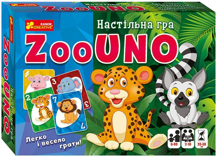 """Настольная игра Зооуно укр купить в магазине """"Пустун"""""""
