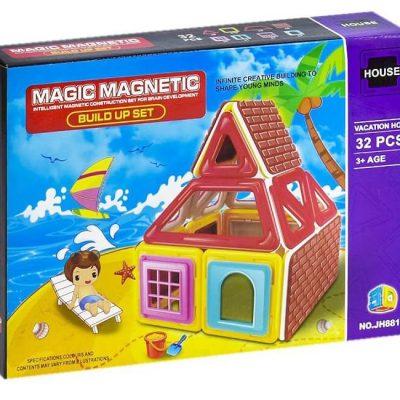 Магнитный конструктор Пляж 32 деталей
